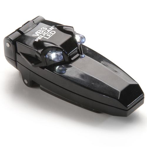 Pelican Products 2220 VB3 LED Flashlight 2220-010-110 Black