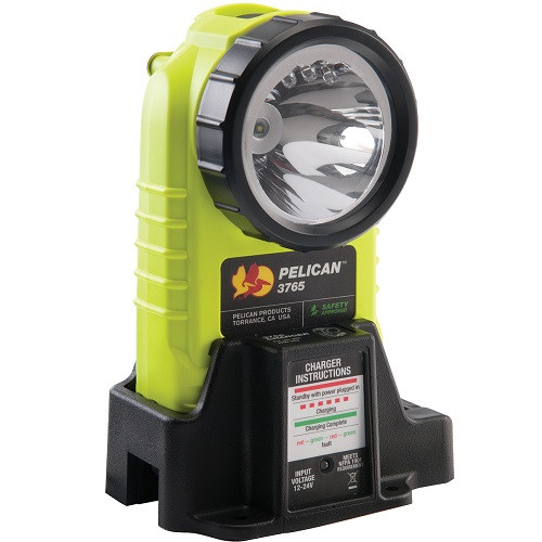 Pelican Products 3765 Right Angle Rechargeable LED Flashlight 3765-061-245
