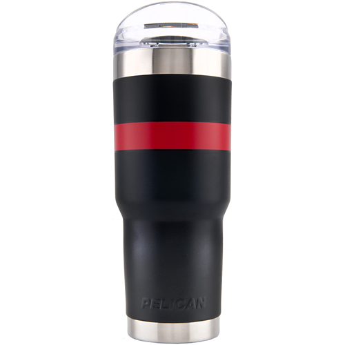 Pelican Products Traveler Tumbler TRAV-SD32-BKRD Black/Red 32oz