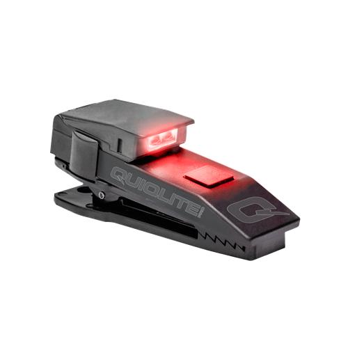 Quiqlite QuiqLitePro Hands Free Pocket Concealable Flashlight Q-PROWR Red/White