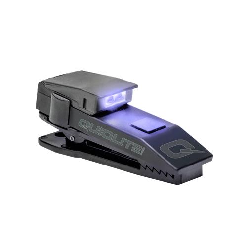 Quiqlite QuiqLitePro Hands Free Pocket Concealable Flashlight Q-PROUVW UV/White