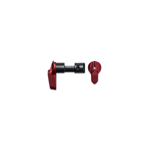 Radian Talon Ambidextrous Safety Selector 2-Lever Kit R0233 Red