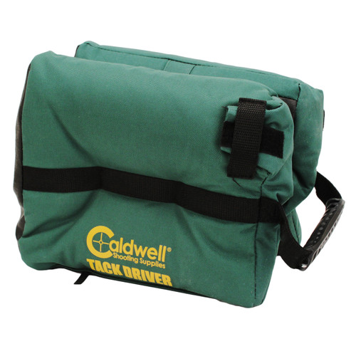 Caldwell TackDriver Shooting Rest Bag w/ Shoulder Carrying Strap Green (Filled) 569230