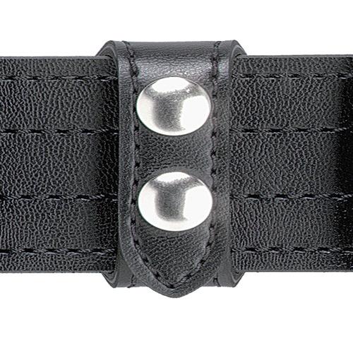 Safariland Model 63 Slotted Belt Keeper 0.75 63-4 Basket Weave Chrome Single