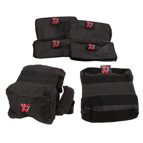 Bulls Bag/Uncle Buds X-7 Tactical Bag 7-in-1 System Black M-0007BLK