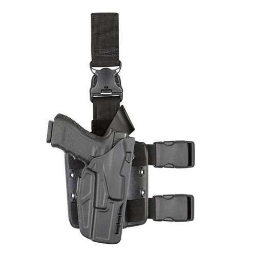 Safariland Model 7385 7TS ALS Tactical Holster w/ Quick Release 7385-832-411 Black 832 Right