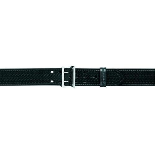 Safariland Sam Browne Buckled Duty Belt 2.25 (58mm) 87-30-8B Basket Weave Brass 30