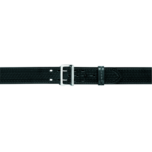 Safariland Sam Browne Buckled Duty Belt 2.25 (58mm) 87-46-8B Basket Weave Brass 46