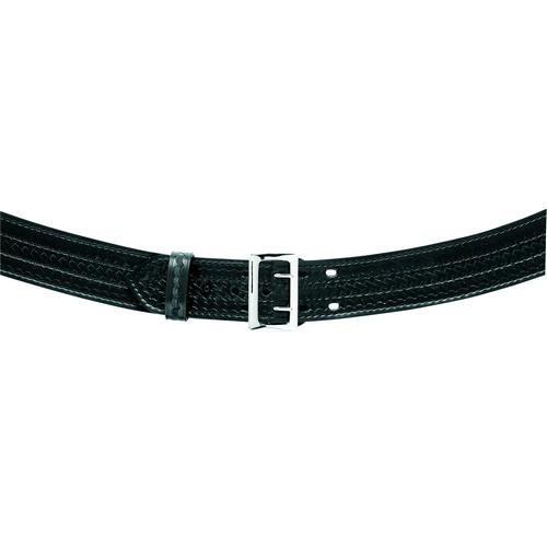 Safariland Contoured Duty Belt Suede Lined 2.25 872-28-6 Plain Nickel 28 2.25in.