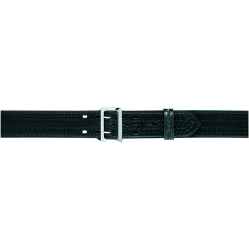 Safariland Stitched Edge Sam Browne Duty Belt w/ Belt Buckle 2.25 875-38-8B Basket Weave Brass 38 2.25in.