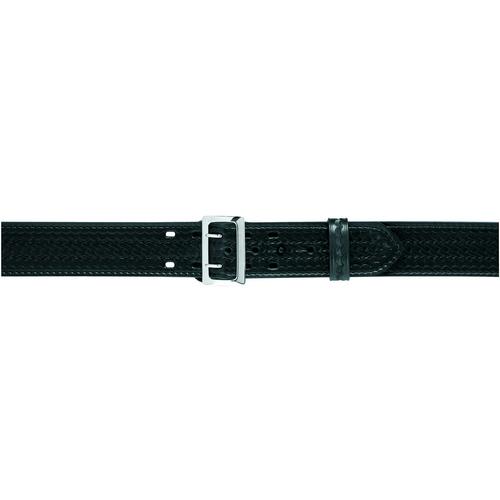 Safariland Stitched Edge Sam Browne Duty Belt w/ Belt Buckle 2.25 875-40-6 Plain Nickel 40 2.25in.