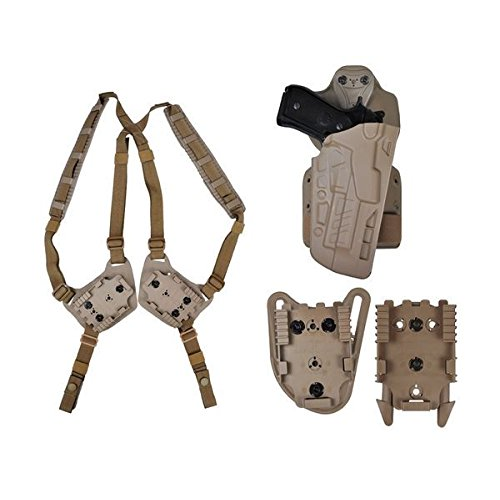 Safariland 7TS ALS Military Kit MIL-KIT1-283-551 FDE Brown 283 Right