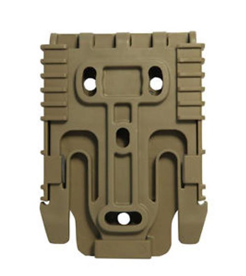 Safariland Quick Locking System Kit QUICK-KIT3-55 FDE Brown