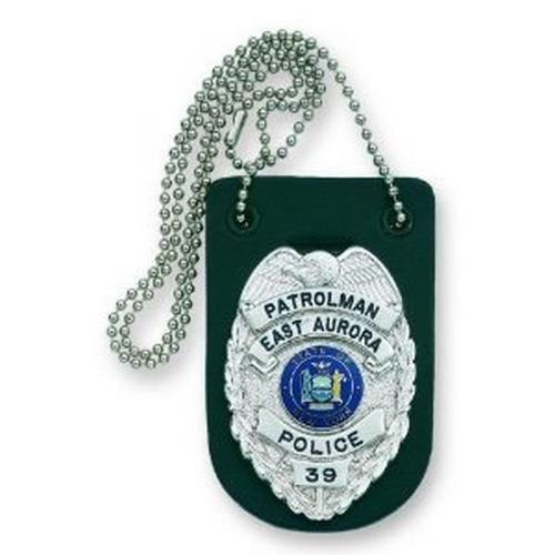 Strong Leather Company Badge Holder For Neck W/Chain 71900-0002