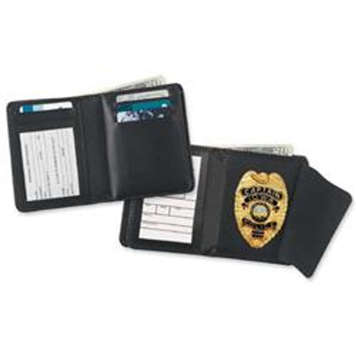 Strong Leather Company Hidden Badge Wallet 79540-1442