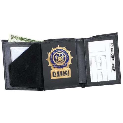 Strong Leather Company Tri-Fold Badge Wallet - Dress 79800-1222
