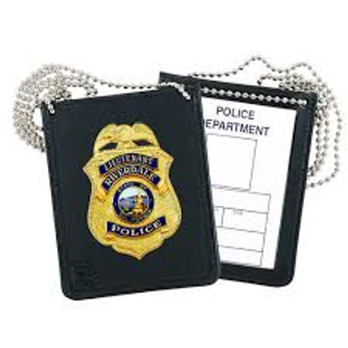 Strong Leather Company Recessed Badge Holders For Neck Or Belt 81100-0642