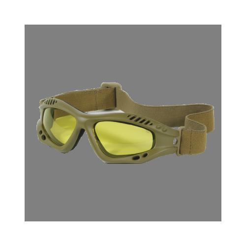 Voodoo Tactical Sportac Goggle 02-8832007000 Coyote Black