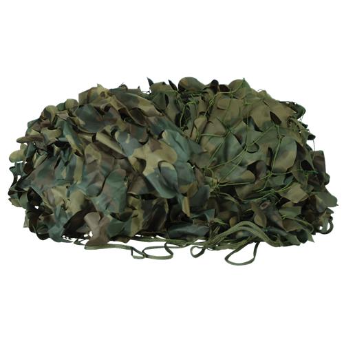 Voodoo Tactical Mil-Spec Leaf Cut Camo Netting 02-9296005000 Woodland Camo 10' x 12'