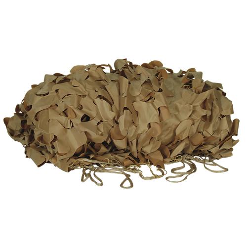 Voodoo Tactical Mil-Spec Leaf Cut Camo Netting 02-9296071000 Desert Camo 10' x 12'