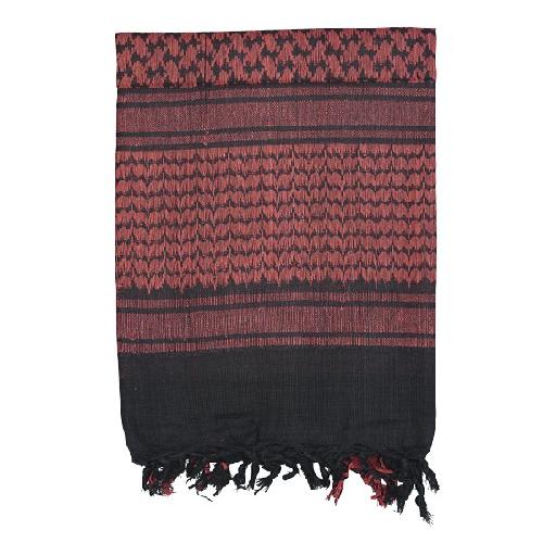 Voodoo Tactical Woven Coalition Desert Scarves 08-3065001000 Red/Black