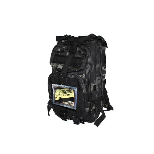 Voodoo Tactical Level III Assault 15-7437072000 Black/MultiCam