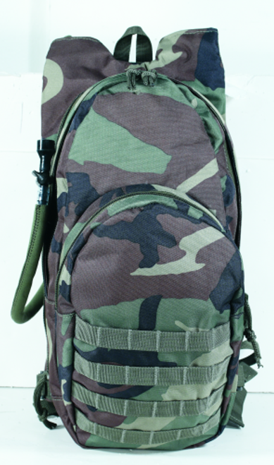 Voodoo Tactical MSP-3 Expandable Hydration Packs W/Universal Straps 15-7491005000 Woodland Camo