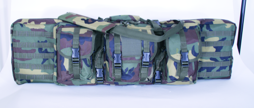 Voodoo Tactical Padded Weapon Case 15-7612005000 Woodland Camo