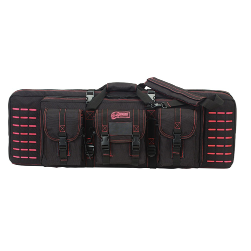Voodoo Tactical 36 Padded Weapons Case 15-7617088000 Black/Pink