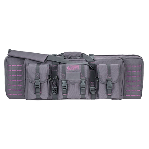 Voodoo Tactical 36 Padded Weapons Case 15-7617160000 Gray/Purple