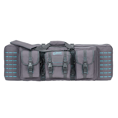 Voodoo Tactical 36 Padded Weapons Case 15-7617161000 Gray/Teal
