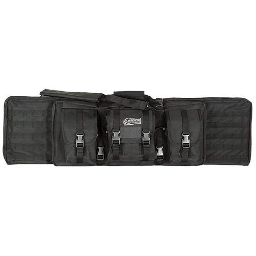 Voodoo Tactical 42 in. Padded Weapons Case 15-7619065000 Black/Purple