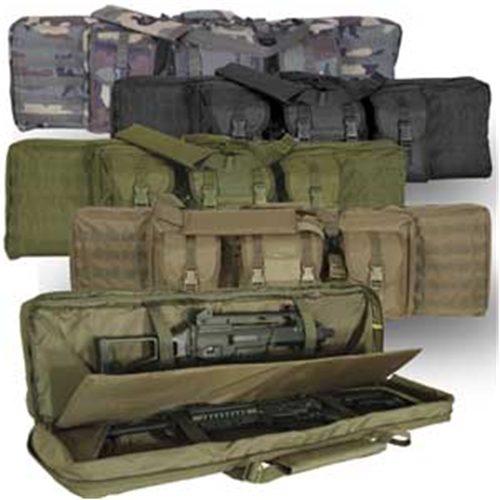 Voodoo Tactical 42 in. Padded Weapons Case 15-7619162000 Black/Teal