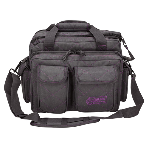 Voodoo Tactical Standard Scorpion Range Bag 15-7621041000 Gray/Purple