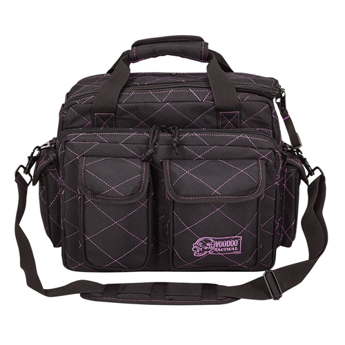 Voodoo Tactical Standard Scorpion Range Bag 15-7621065000 Black/Purple
