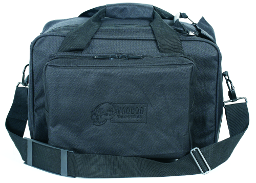 Voodoo Tactical Two-In-One Full Size Range Bag 15-7871001000 Black