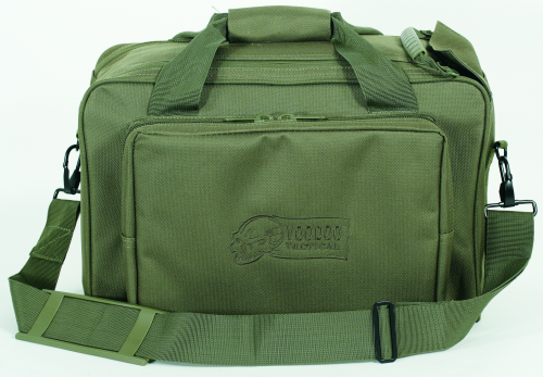 Voodoo Tactical Two-In-One Full Size Range Bag 15-7871004000 OD Green