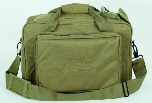 Voodoo Tactical Two-In-One Full Size Range Bag 15-7871007000 Coyote