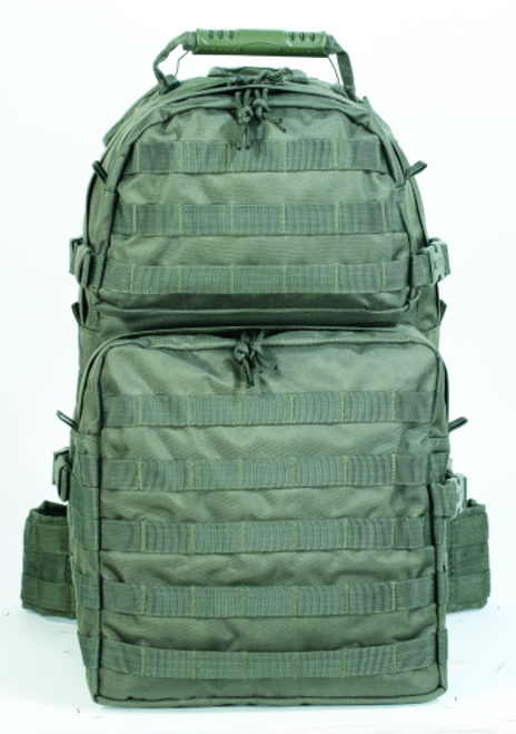Voodoo Tactical Enhanced 3-Day Assault Pack 15-8171004000 OD Green