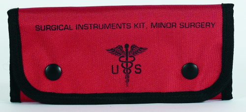 Voodoo Tactical Empty Surgical Kit Pouches 15-9589016000 Red