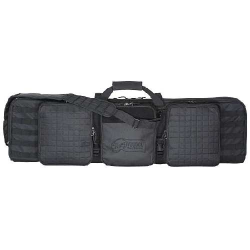 Voodoo Tactical Deluxe Padded Weapon Case W/ 6 Locks 15-9648001000 Black 42in.