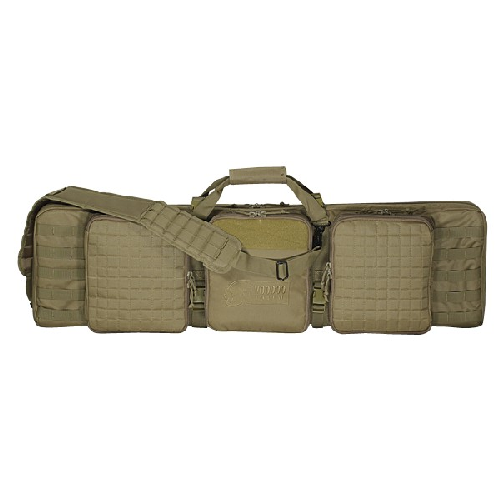 Voodoo Tactical Deluxe Padded Weapon Case W/ 6 Locks 15-9648007000 Coyote 42in.