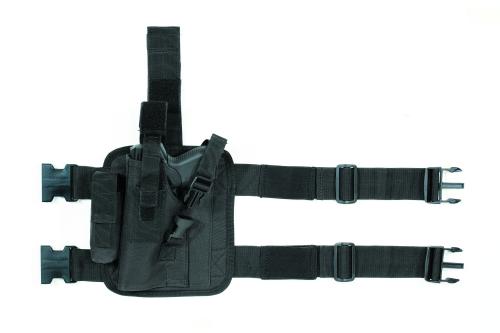 Voodoo Tactical Tactical Drop Leg Holster 20-0052001002 Black Left