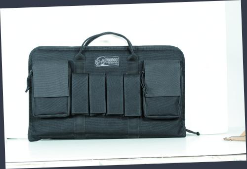Voodoo Tactical Enlarged Pistol Case 20-0098001000 Black