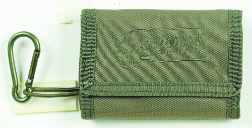 Voodoo Tactical Tri-Fold Wallet 20-0124004000 OD Green