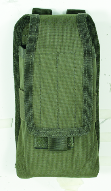 Voodoo Tactical Molle Compatible Radio Pouch 20-7214004000 OD Green