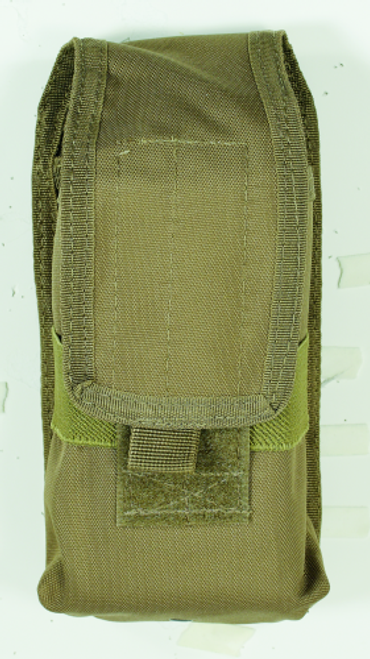 Voodoo Tactical Molle Compatible Radio Pouch 20-7214007000 Coyote Brown