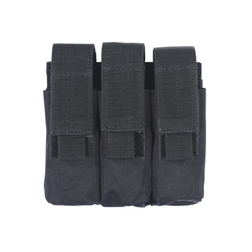 Voodoo Tactical Pistol Mag Pouch 20-7976001000 Black Triple