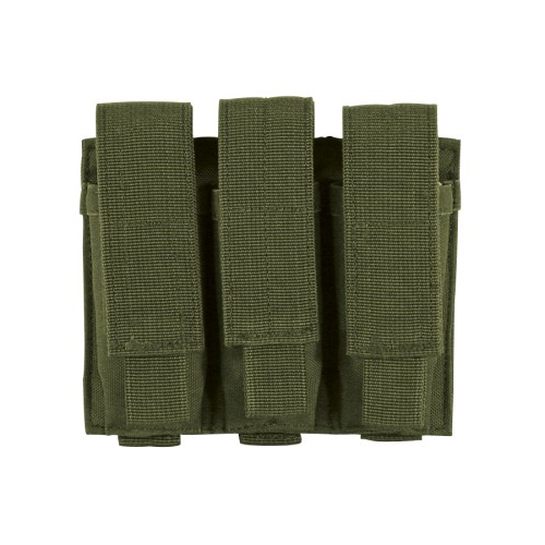 Voodoo Tactical Pistol Mag Pouch 20-7976004000 OD Green Triple