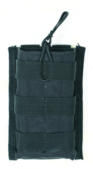 Voodoo Tactical M4/M16 Open Top Mag Pouch W/ Bungee System 20-8584001000 Black